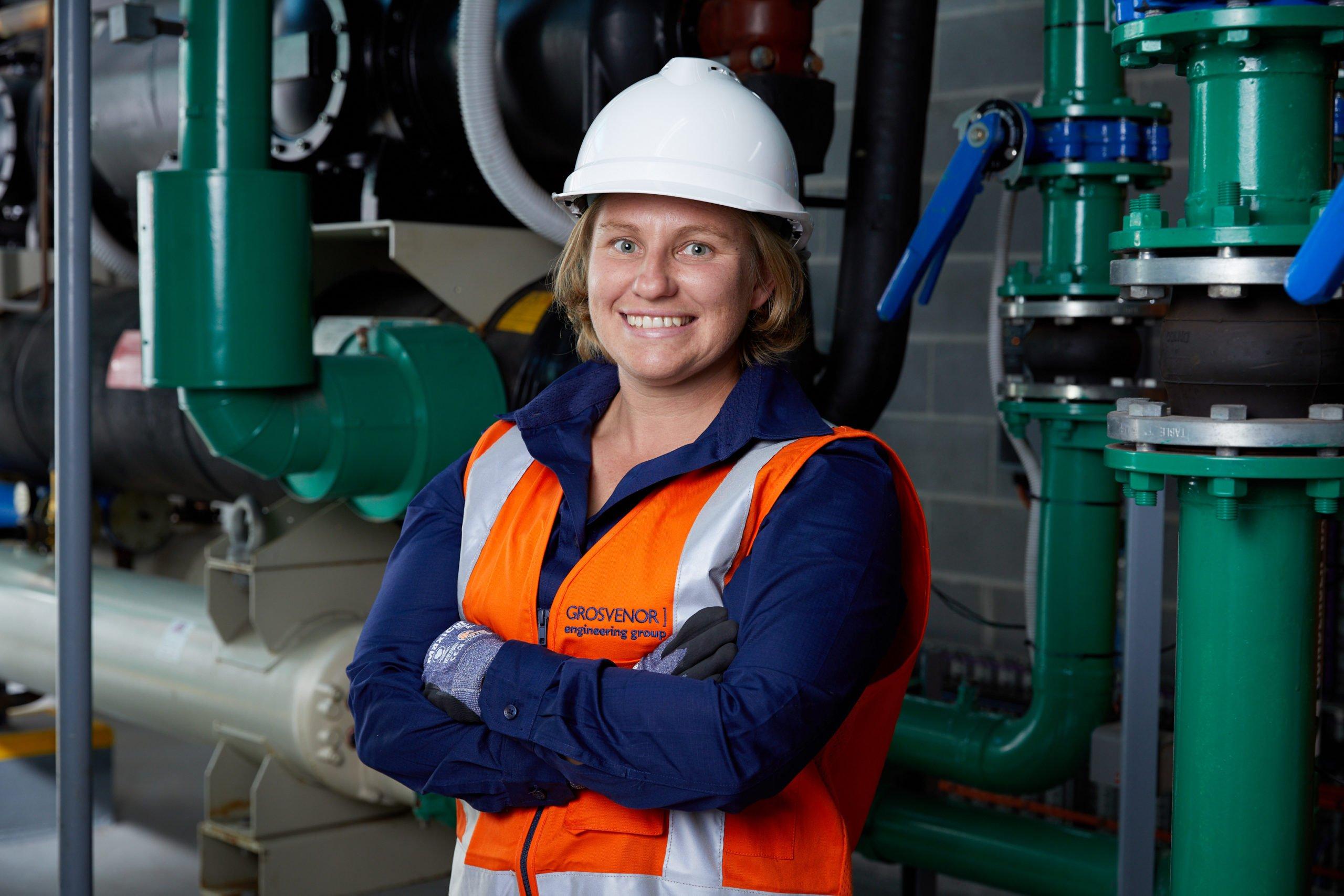 Emma Waine Apprentice at Grosvenor